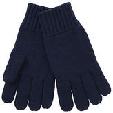John Lewis Knitted Gloves, Navy