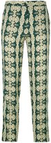 Etro arabesque print trousers - women - Viscose - 38