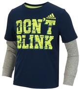 adidas Boys' Climalite Don't Blink Tee - Little Kid