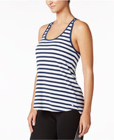 Calvin Klein Be Bold Striped Crossover-Back Tank Top