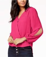 INC International Concepts I.n.c. Petite Split-Sleeve Blouse, Created for Macy's