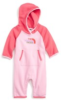 The North Face Infant Girl's Hooded Logo Romper