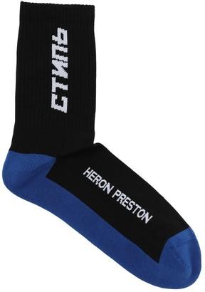 Heron Preston Ctnmb Long Cotton Socks