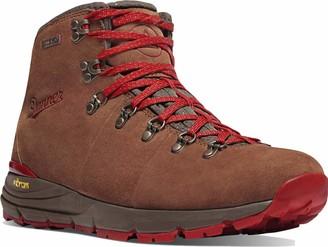 "Danner Women's 62245 Mountain 600 4.5"" Waterproof Hiking Boot Brown/Red - 6 M"