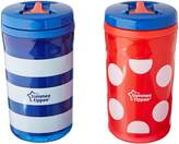 Tommee Tippee Free Flow Insulated Cup, 10 Ounce, 2 Count (Colors will vary)