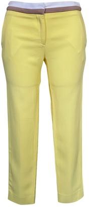 Aquilano Rimondi Yellow Trousers for Women