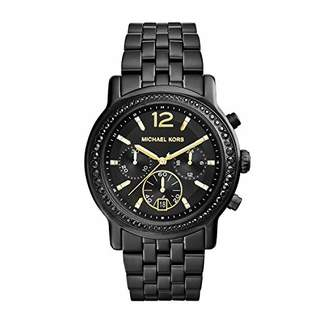 Michael Kors Women's Baisley Quartz Watch with Stainless-Steel-Plated Strap