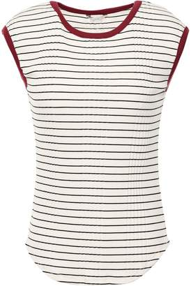 Joie Tasmin Striped Ribbed Jersey T-shirt