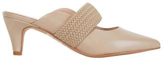Jane Debster Symbol Nude Glove Heeled Shoes