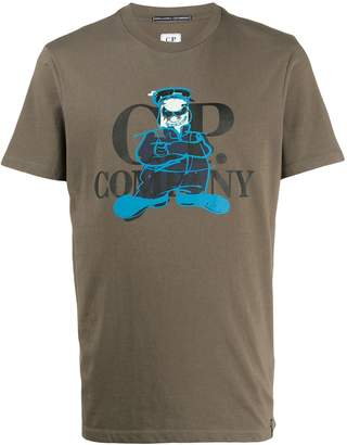 C.P. Company cartoon print T-shirt