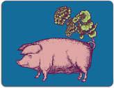 Avenida Home - Puddin' Head - Animal Table Mat - Pig