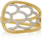 Yvonne Leon 18K Gold Diamond Ring