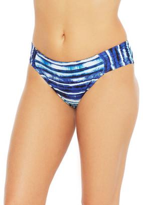 La Blanca Serene Side-Shirred Hipster Bikini Bottom