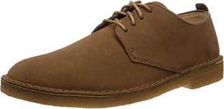 Clarks Men's Originals Lace-Up Derby Shoes Desert London Cola Suede
