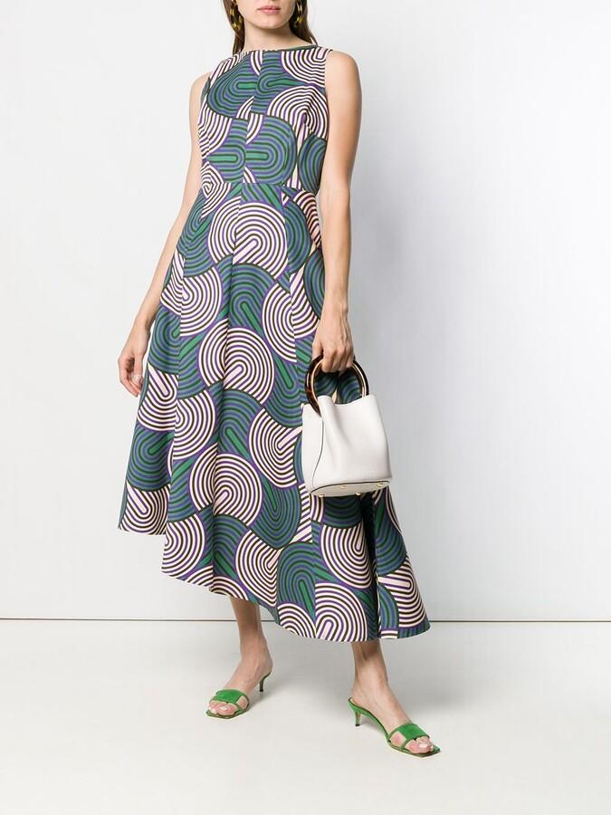 Thumbnail for your product : La DoubleJ Printed Asymmetric Dress