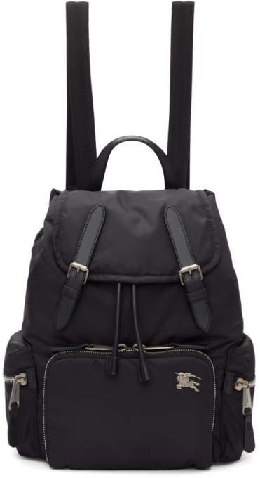 Burberry Black Medium Puffer Crossbody Backpack