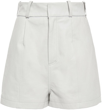 Walter Baker Leather Shorts