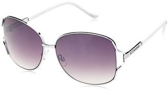 Rocawear Women's R575 SLVWH Square Sunglasses