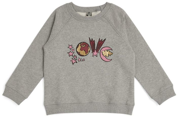 Bonton Love Graphic Sweatshirt (4-12 Years)