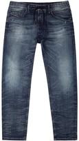 Diesel Narrot 0674x Blue Straight-leg Jeans