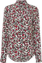 Saint Laurent heart print blouse