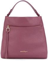 Salvatore Ferragamo Large Gancio Hobo bag - women - Calf Leather - One Size