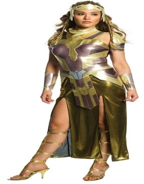 BuySeasons BuySeason Women's Wonder Woman Movie - Hippolyta Deluxe Costume