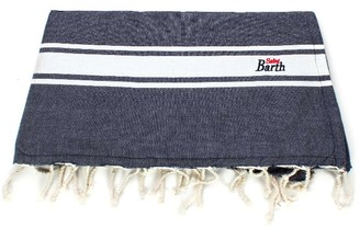 MC2 Saint Barth Blue Cotton Towel Doubled With Sponge