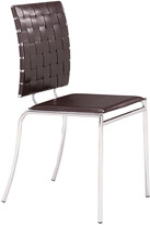 ZUO Set Of 4 Criss Cross Dining Chairs