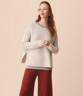 LOFT Lou & Grey Washed Boucle Sweater