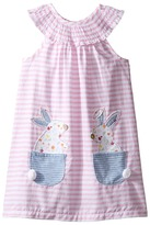 Mud Pie Bunny Pocket Dress (Toddler)