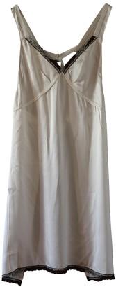 R 13 White Silk Dresses