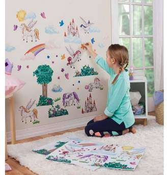 HearthSong Children's Decorative Wall Stickers for Kids Rooms