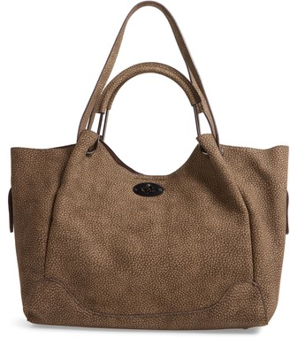 Sondra Roberts Pebble Faux Leather Shopper