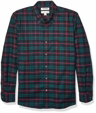 Goodthreads Standard-fit Long-sleeve Stretch Oxford Shirt (All Hours) Button
