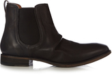 John Varvatos Fleetwood Sharpei leather chelsea boots