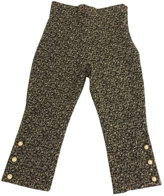 Chanel \N Black Spandex Trousers