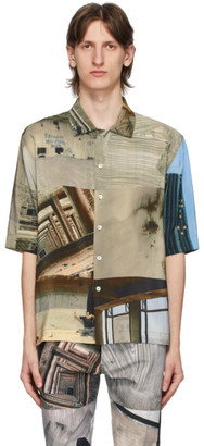 Serapis Multicolor Piraeus Tower Short Sleeve Shirt