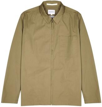 Norse Projects Jens Olive Cotton-blend Jacket