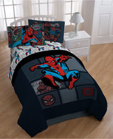 Marvel CLOSEOUT! Spider-Man Jump Kick Twin Comforter