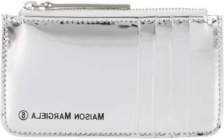 MM6 MAISON MARGIELA Metallic Logo Wallet