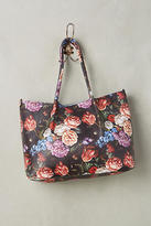 Anthropologie Romantic Florals Tote