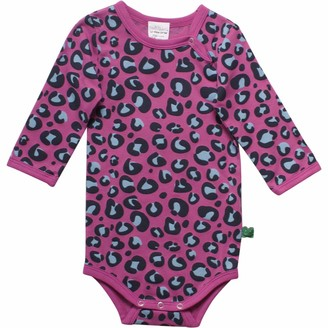 Fred's World by Green Cotton Baby Girls' Animal Body Shaping Bodysuit