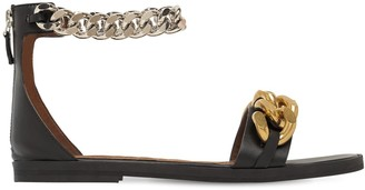 Stella McCartney 10mm Falabella Faux Leather Sandals
