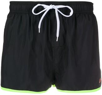 Sun 68 Logo-Patch Swim Shorts