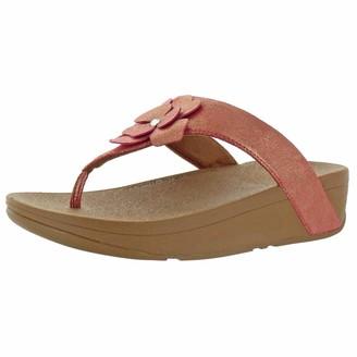 FitFlop Women's Lottie Corsage Suede Toe-Thongs