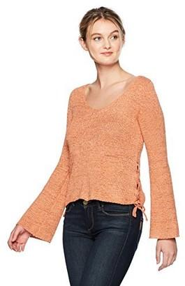 MinkPink Women's Beau Lace Side Sweater