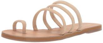 Musse & Cloud Women's JENIS Flat Sandal Beige 37 Medium EU (6-6.5 US)
