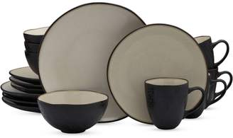 Mikasa Crisa 16-Piece Stoneware Dinnerware Set