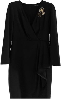 Mangano Black Cotton - elasthane Dress for Women